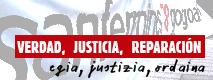 egia, justizia, ordaina - verdad, justicia, reparación