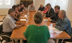 En el Parlamento de Navarra 2015-06-23